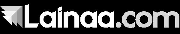 Lainaa.com valkoinen logo